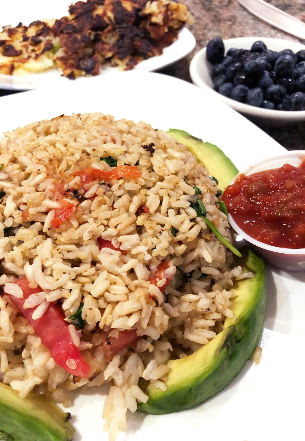 New Jersey Photo Diary I Breakfast at the Prestige Diner #Travel #Travelblogger #veganeats