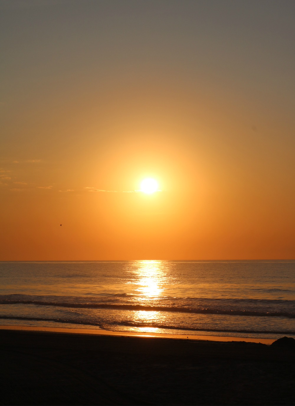 Jersey Shore Photo Diary I Sunrise Over the Atlantic Ocean #Travel #TravelBlogger #TravelPhotography