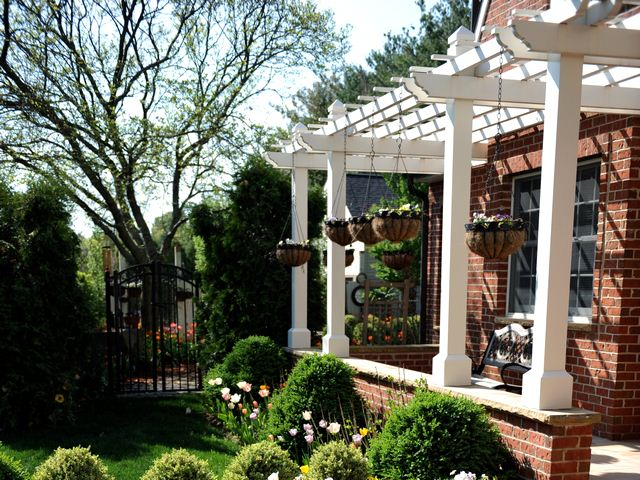 How To Build A Pergola Attached To The House Instructions
