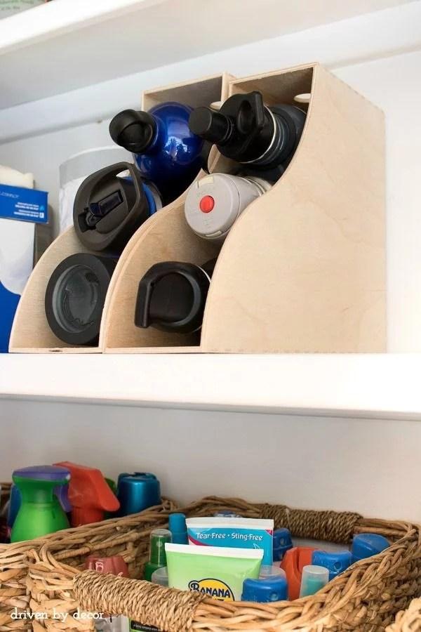 Mutfak Dolaplarınızda Dosya Tutucular