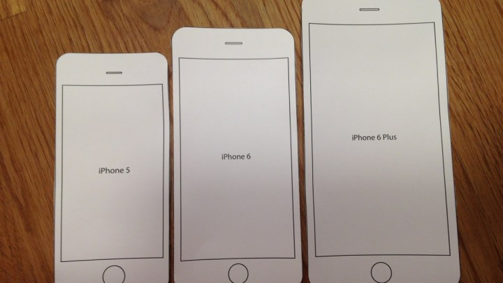 """iPhone 6: Welches ist die """"richtige"""" Grösse für mich?"""