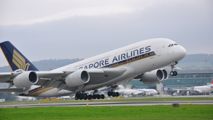 """Airbus A380 """"Take-off"""""""