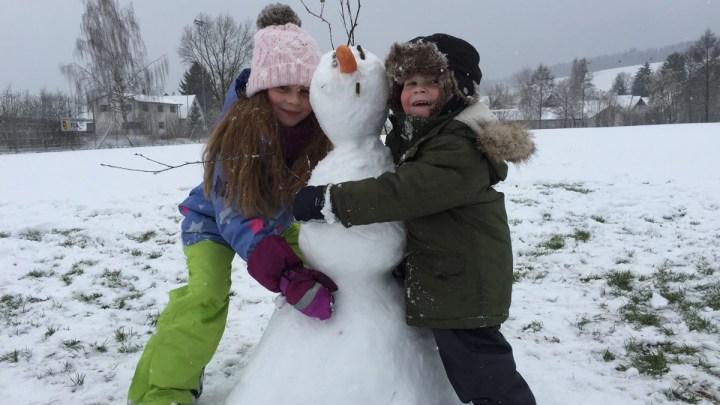 Willst Du einen Schneemann bauen?