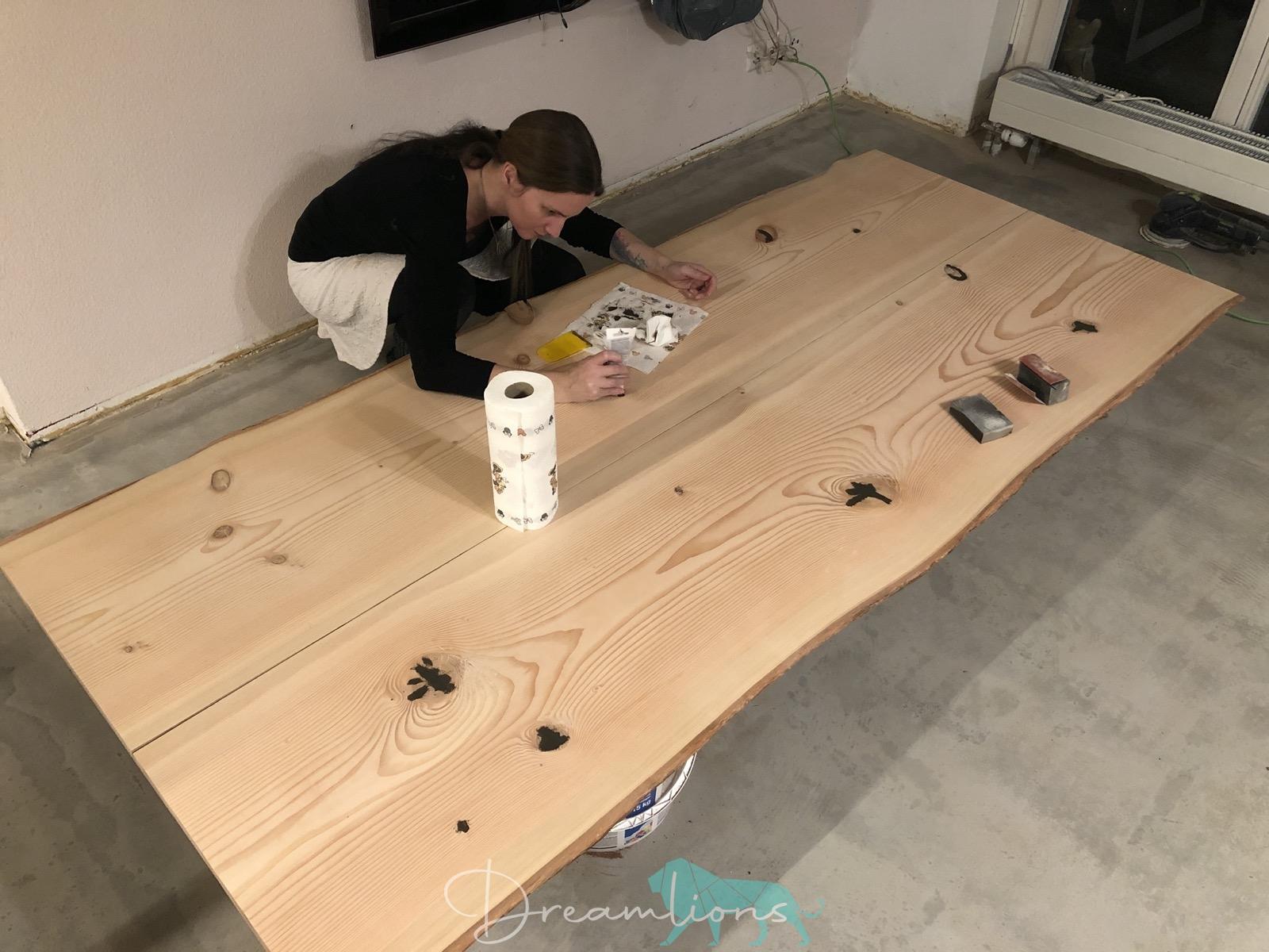 DIY Esstisch
