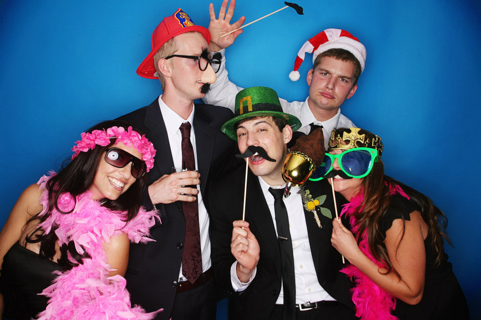 Concord Nh Funny Wedding Photobooth Pictures At Centennial Hotel
