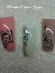Stamping gel met foil