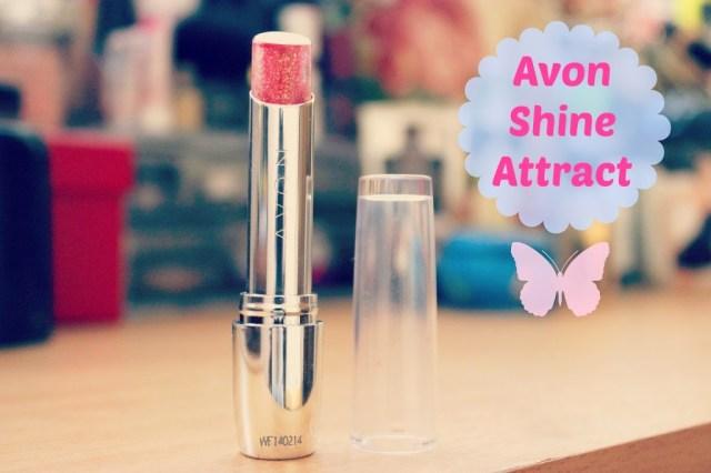 Avon Shine Attract Red Smoulder P306
