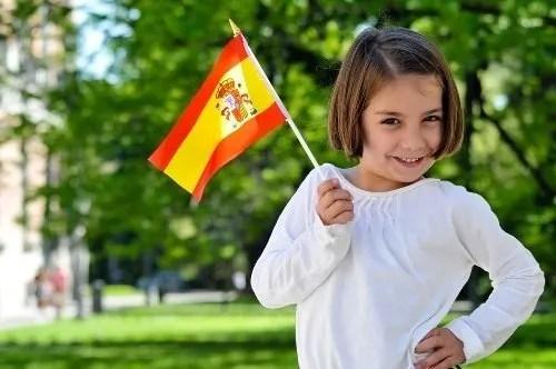teaching students in Spain
