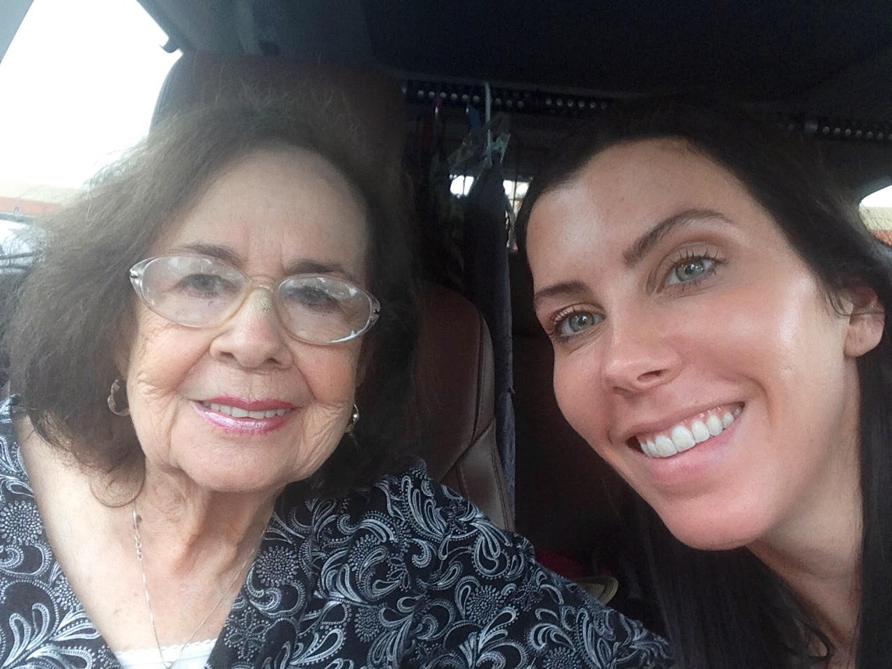 Leesa and her grandmother Lessons