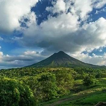 volcano costa rica travel abroad lake mountain