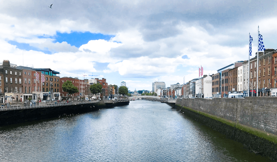ireland traveling abroad city water