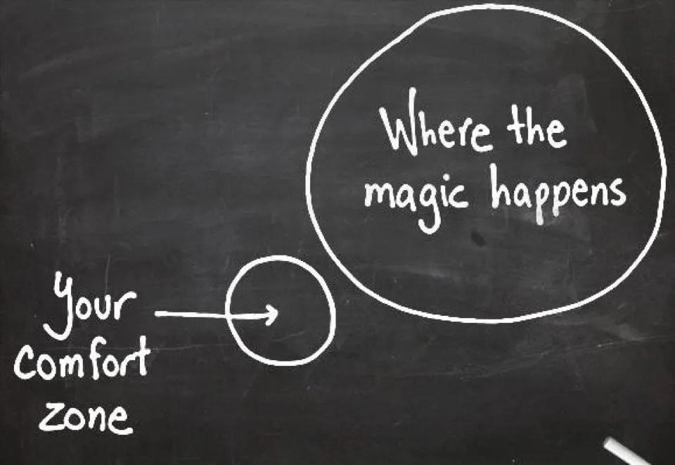 quote where the magic happens