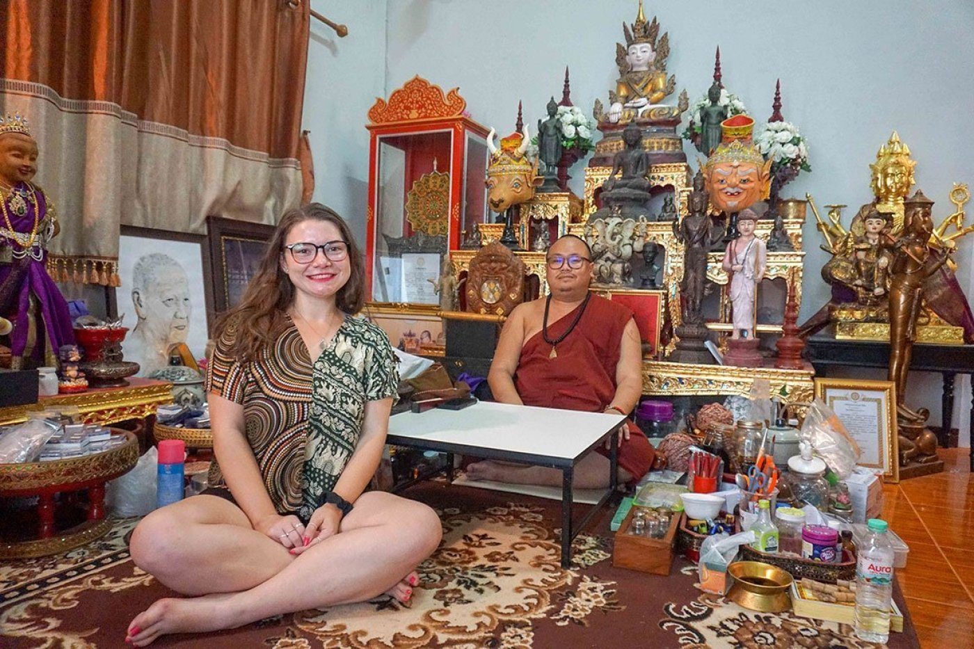 monk Homestay in Chiang Mai, Thailand
