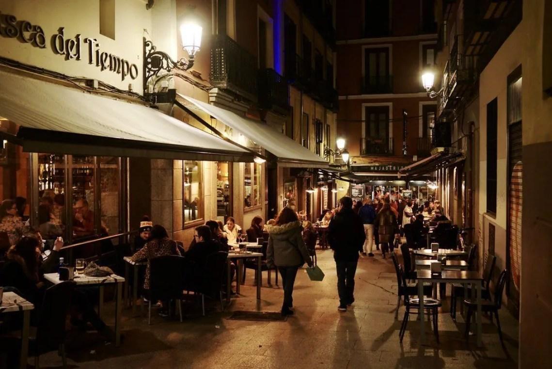 night madrid café