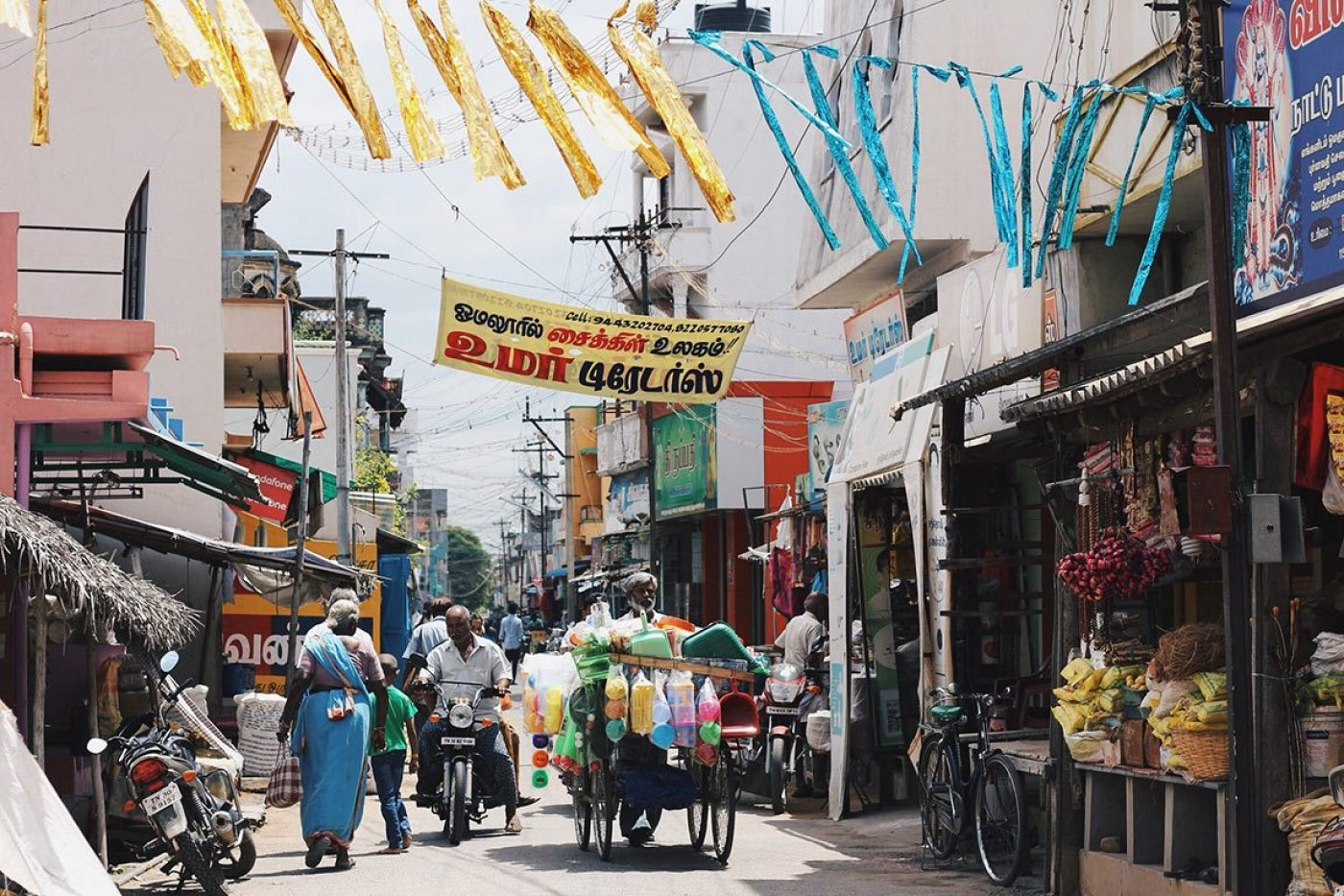 Travel to India shopping