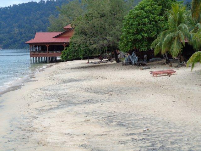 The beach at Air Batang