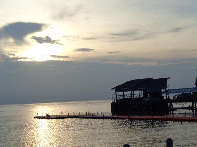 Nightfall in Air Batang