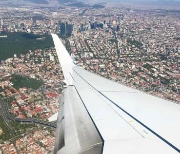 Flight to Mexico City