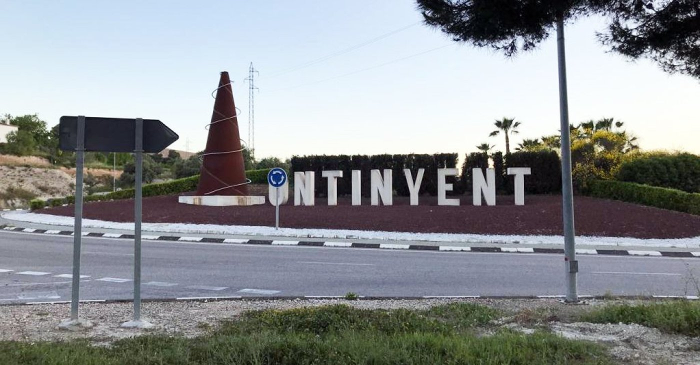 Ontinyent Spain sign