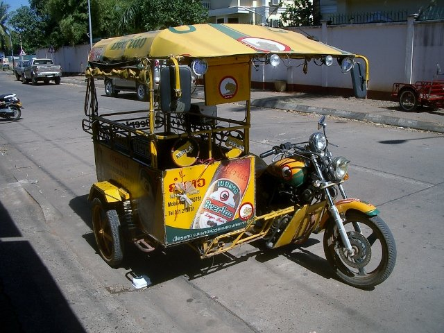 amlor in Pakse, Laos for Beer Delivery