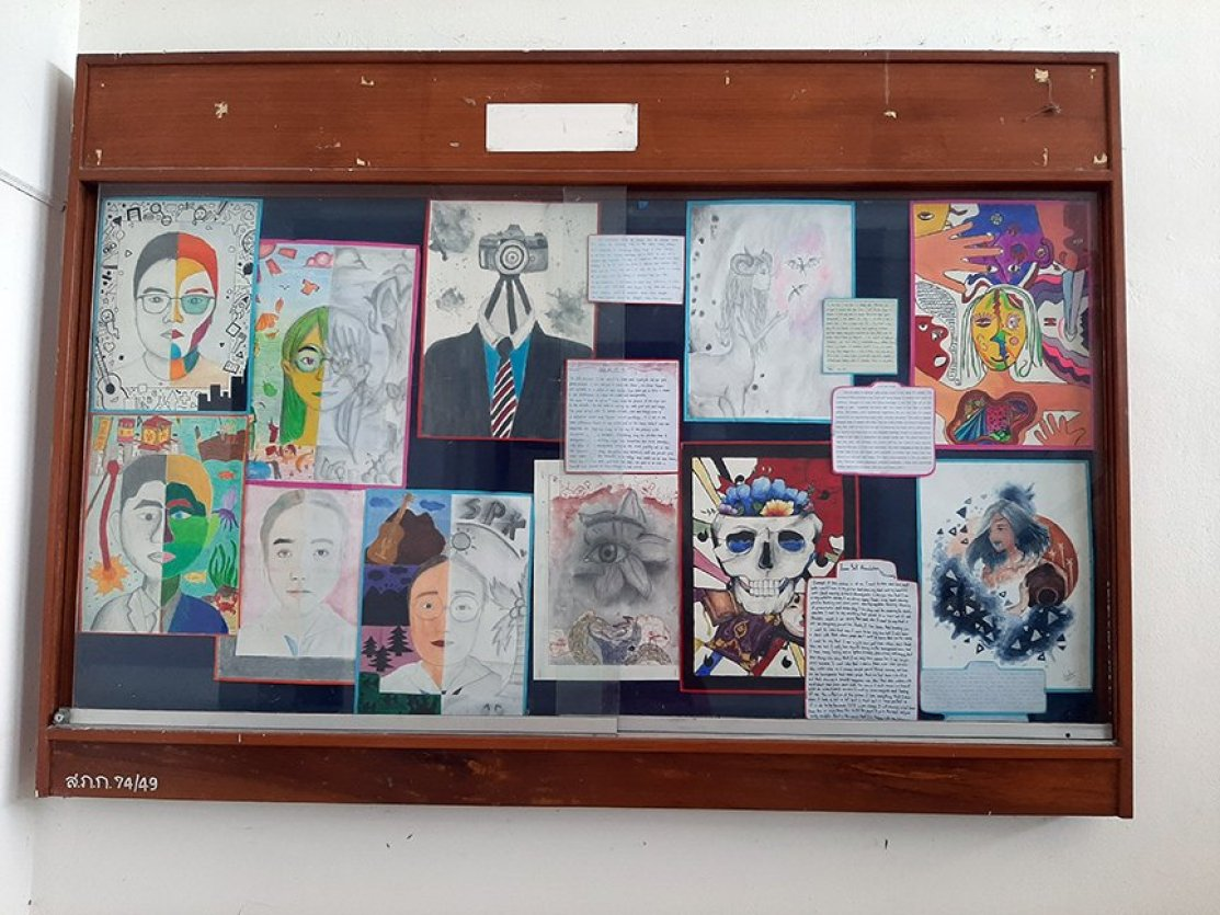 Students artwork