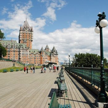 chateau in quebec city canada