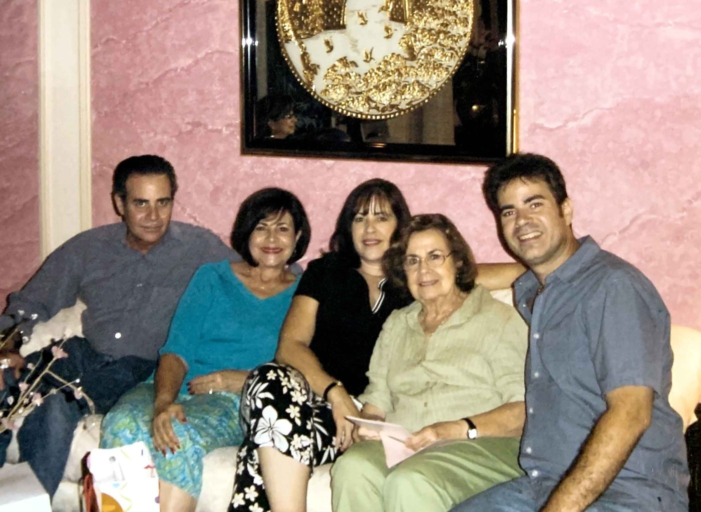colon family photo