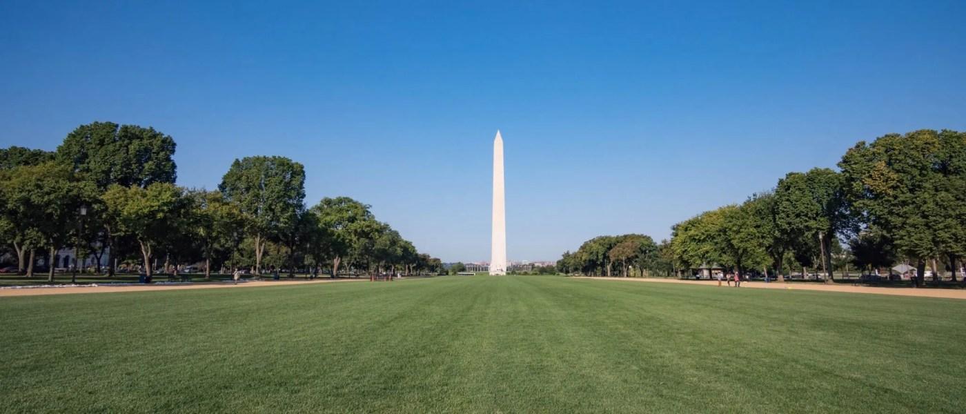 National Mall and Washington Monument in Washington D.C.
