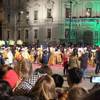 three kings parade christmas