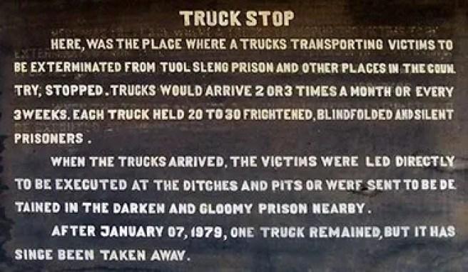 truck stop cambodia killing fields