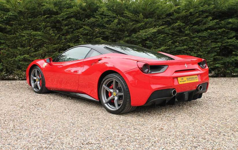 Ferrari 488 SE rear side
