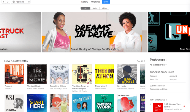 Apple Podcasts - Dreams In Drive - Therapy for Black Girls