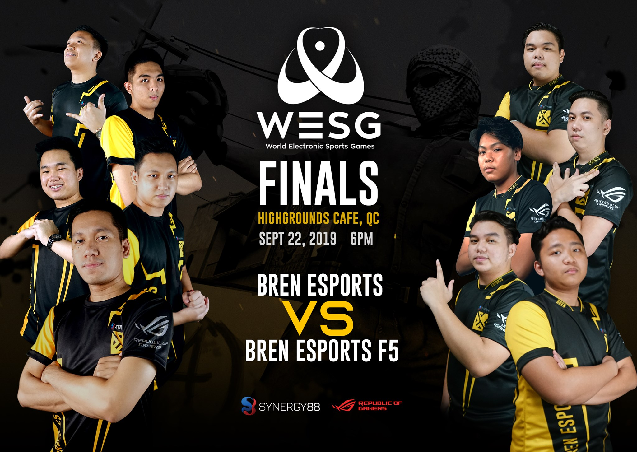 Fallen 5 Are Your Philippine Reps To The Wesg Sea Cs Go Finals Dreamslayer