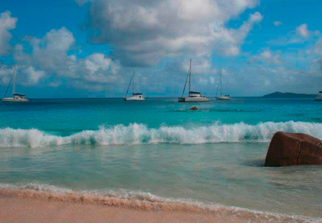Mitsegeln Katamaran Seychellen