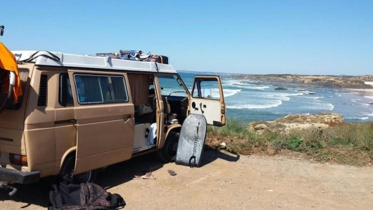 camper voor cliff