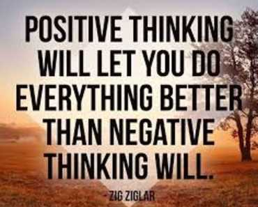 The Power of Positive Thinking and Attitude quotes