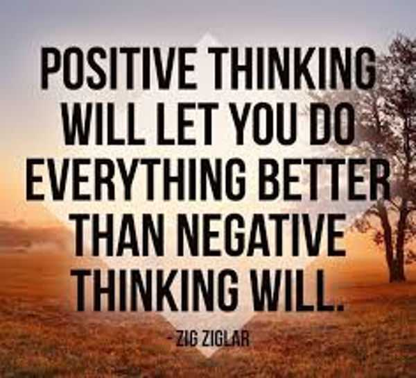 Power Of Positive Thinking Quotes Adorable The Power Of Positive Thinking And Attitude Quotes Thinking Will