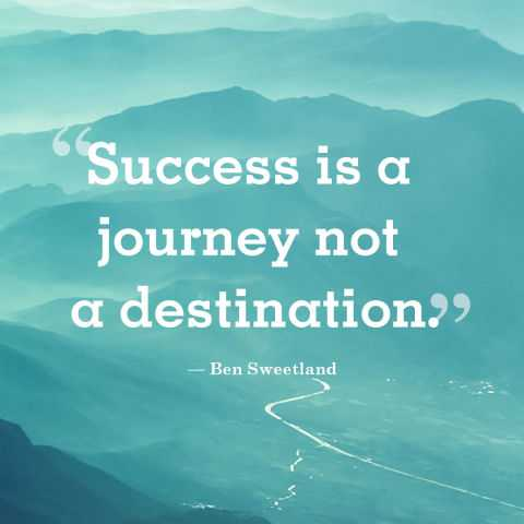 Short Positive Quotes 'Success Is A Journey Go With All Your Heart Delectable Short Positive Quotes