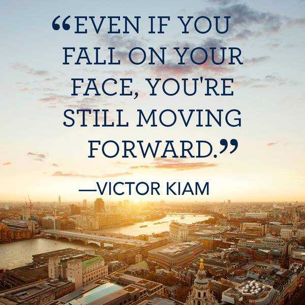 Inspirational Quotes About Moving On: Inspirational Quotes: Still Moving Forward Even Fall