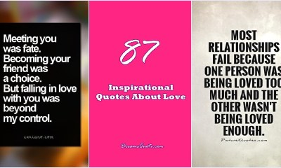 87 Inspirational Quotes About Love Sensational Breakthrough