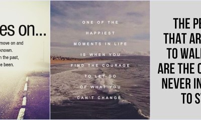 56 Inspirational Quotes About Moving On