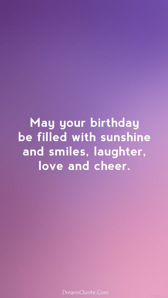 143 Happy Birthday Wishes Messages And Happy Birthday Quotes 7