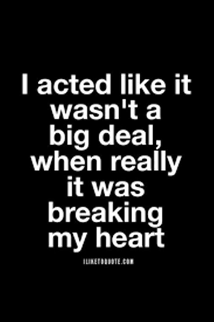 Broken heart sayings
