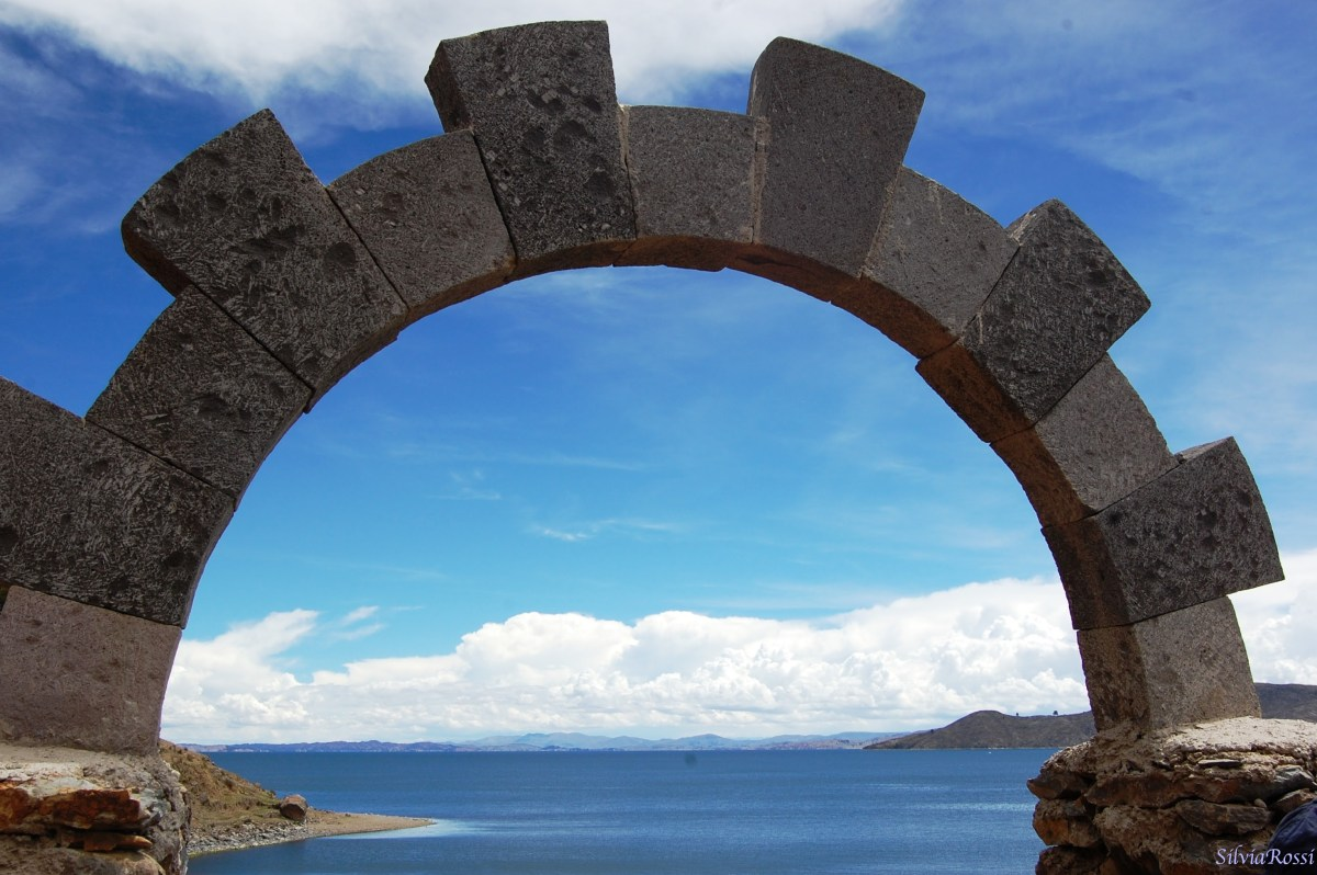 a window on Titicaca lake