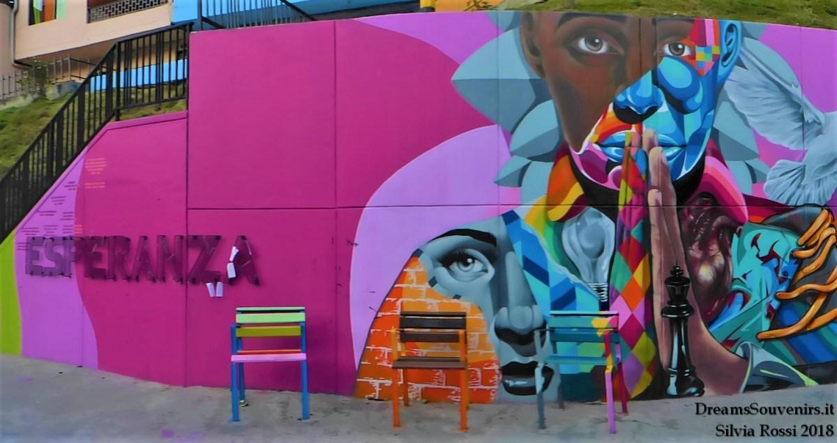 Murales en la Comuna13