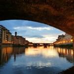 sotto Ponte Vecchio
