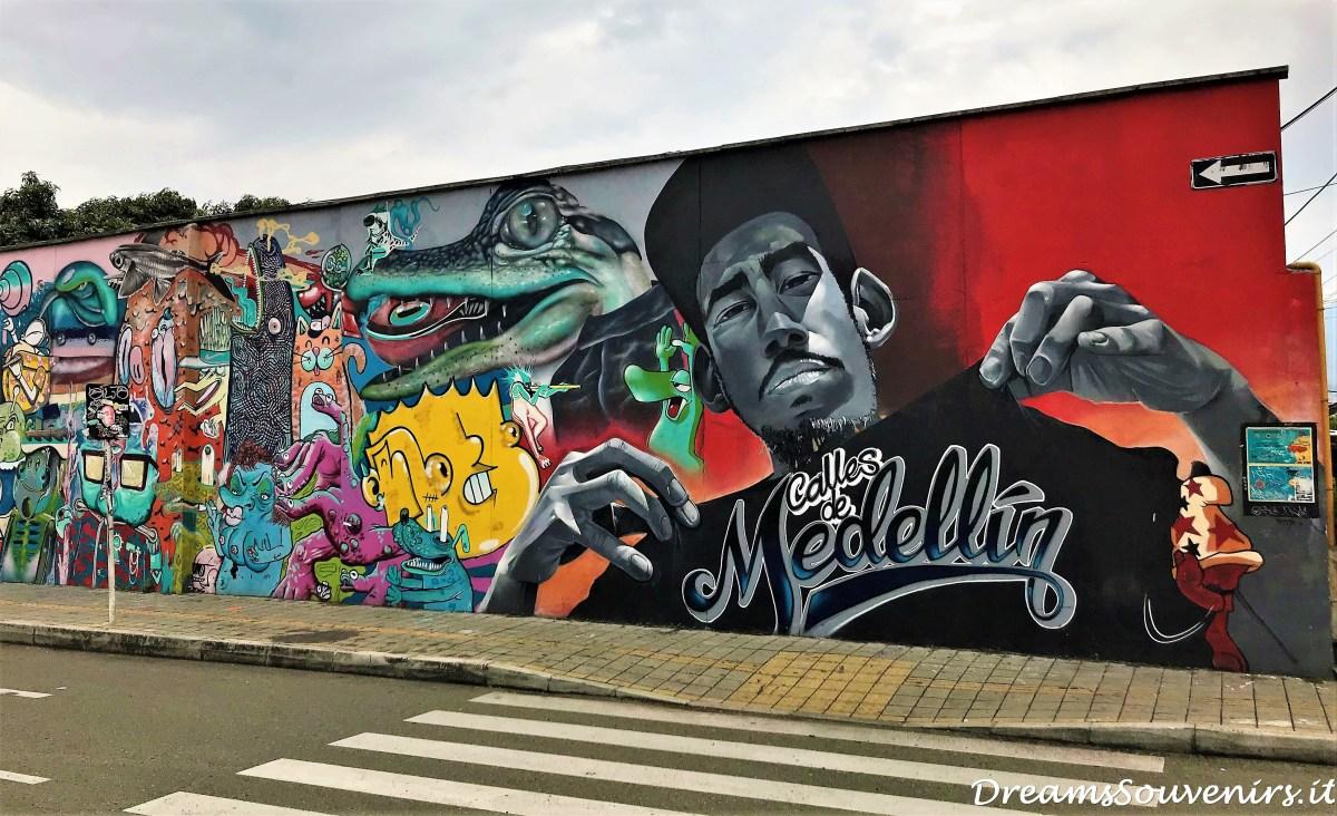 El Poblado Medellin street art