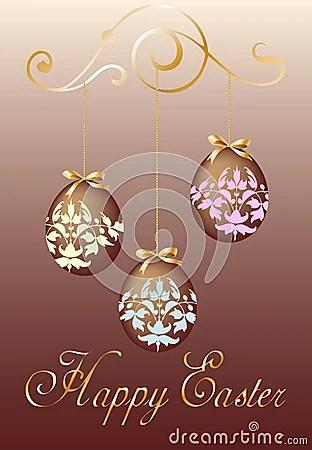 Easter Chocolat Card