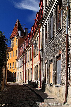 Estonia: Old Town Of Tallinn Royalty Free Stock Photography - Image: 18727547