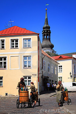 Estonia: Tallinn Old Town Stock Photos - Image: 18746853